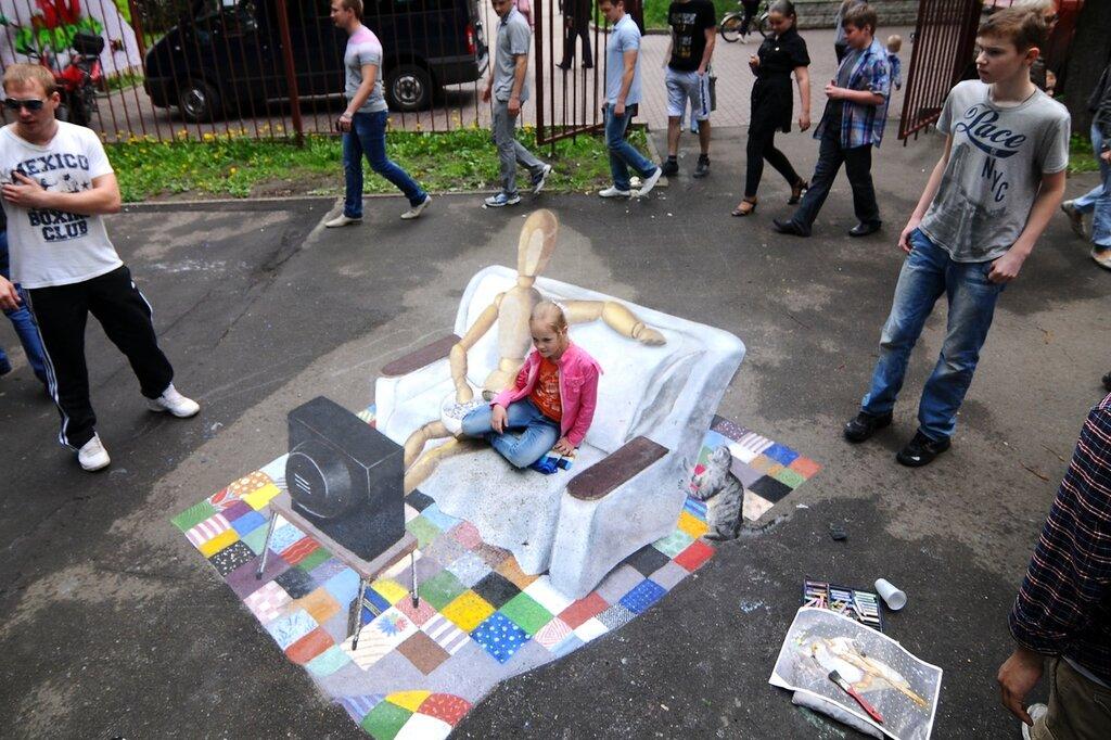 Фестиваль объемного граффити