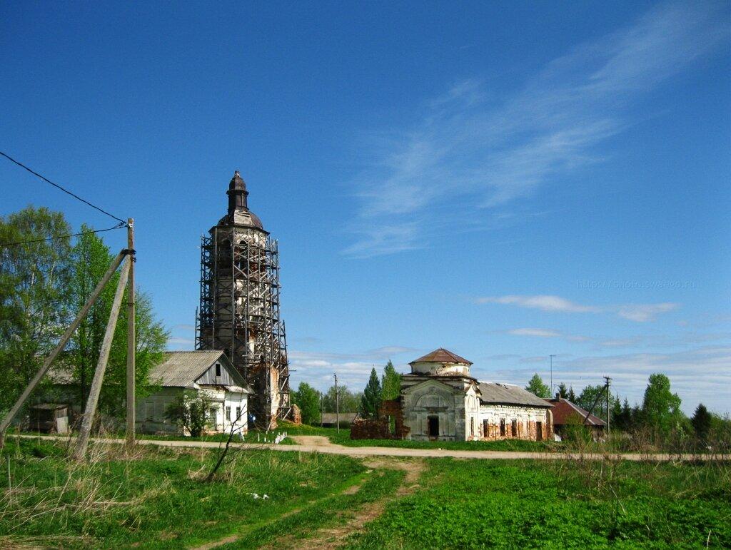 Колокольня Сямского Богородицерождественского монастыря