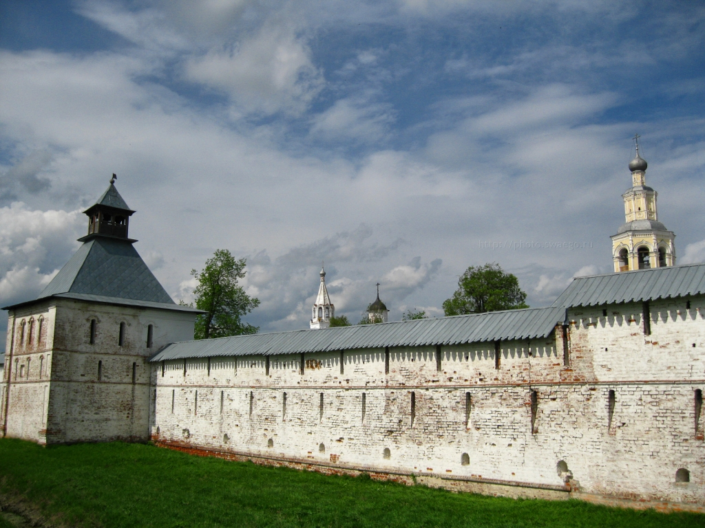 Вологда-Спасо-Прилуцкий монастырь
