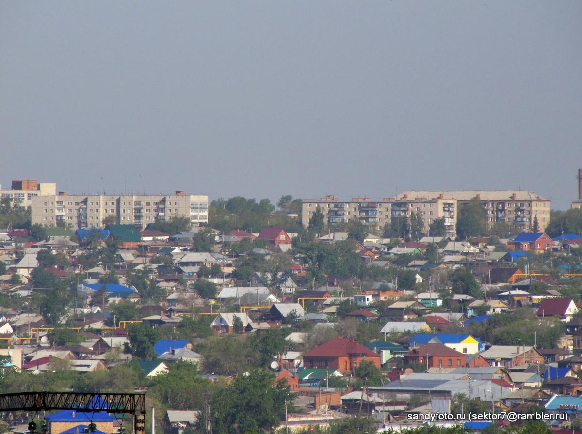 Вид на город Троицк