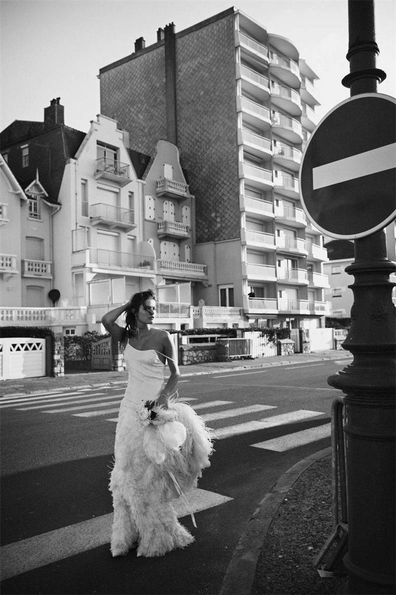 Isabeli Fontana / Изабели Фонтана, фотограф Peter Lindbergh, в журнале Vogue Paris, апрель 2012