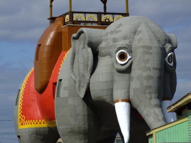 Lucy the Elephant. Нью-Джерси, США