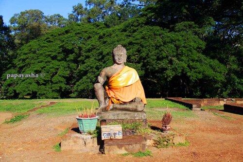 терасса ПРОКАЖЕННОГО КОРОЛЯ, город Ангкор ТхОМ