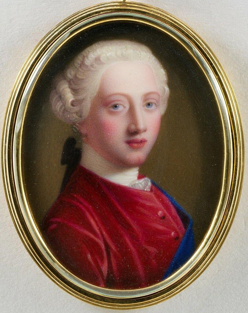 Георг III (1738-1820), когда Принц Уэльский
