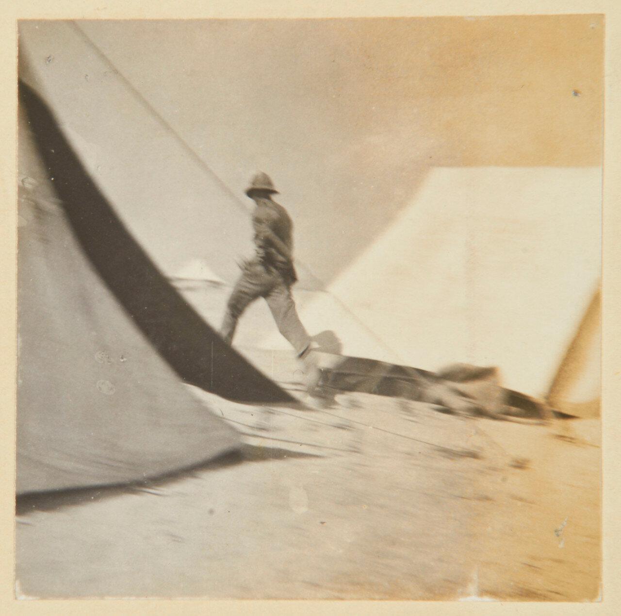 Гренадеры в Сиди Габер возле Александрии. Полет лейтенанта Эдуарда Дугласа Лоха (1873-1942)
