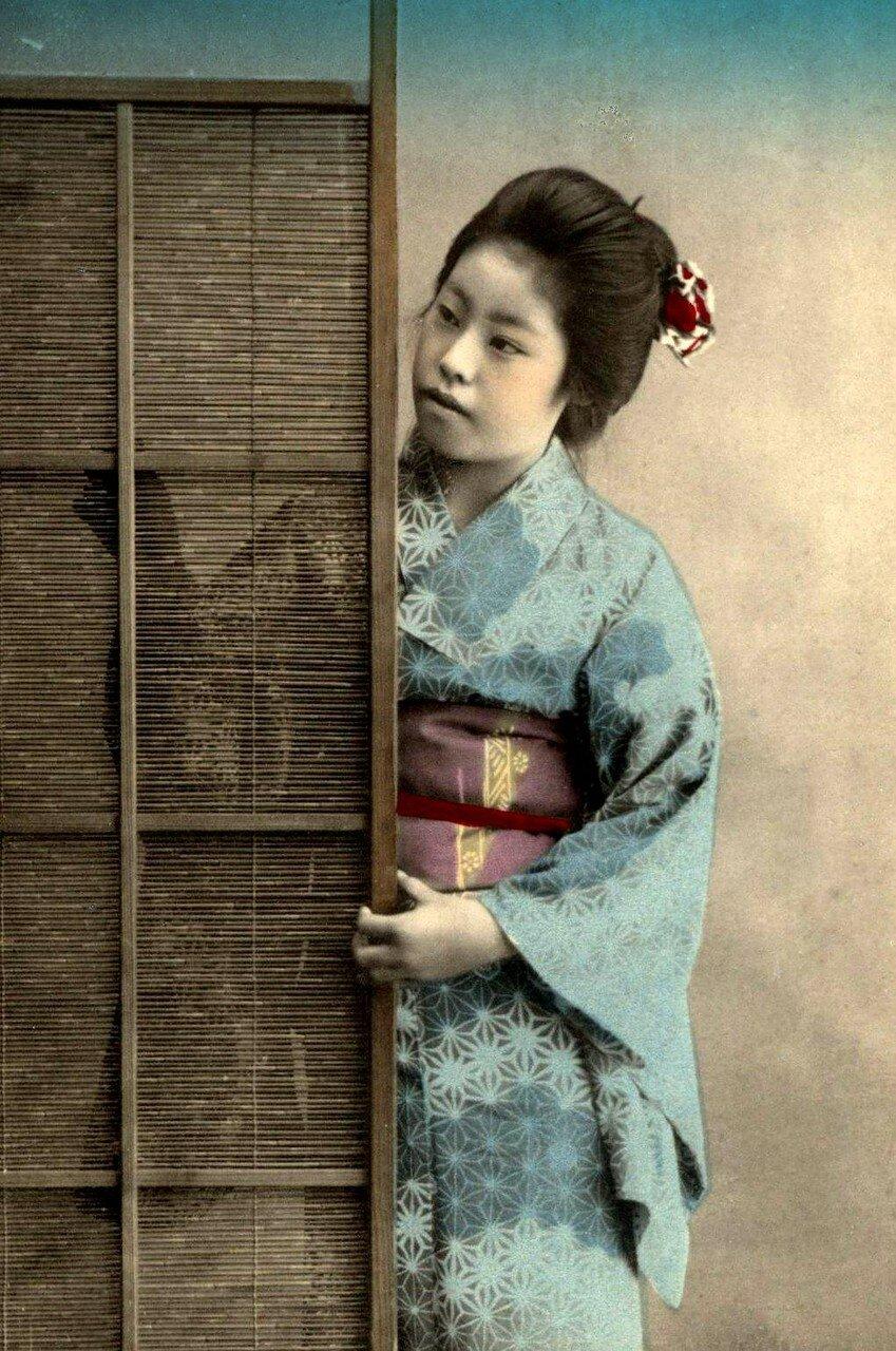 Японки в деревне 15 фотография