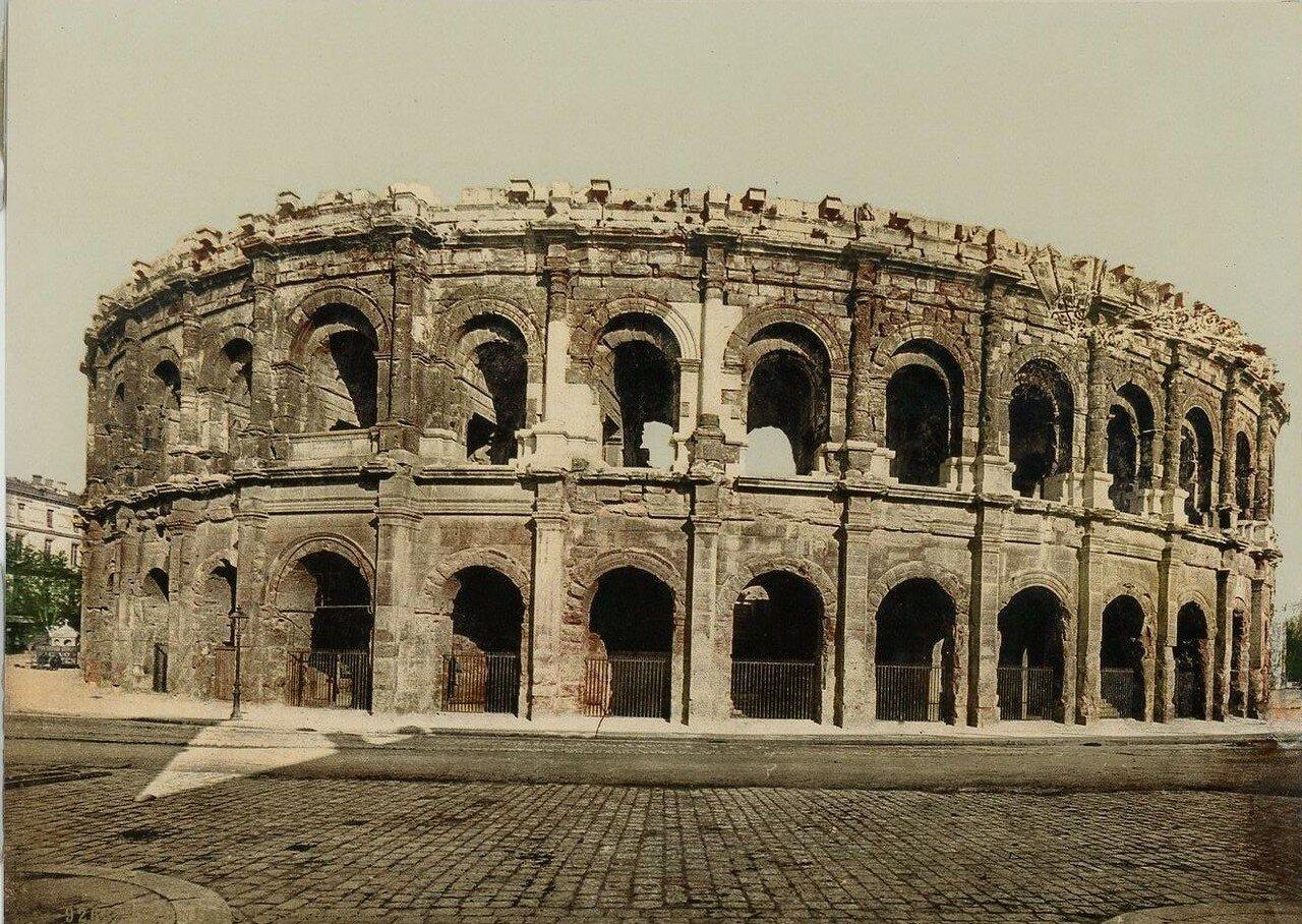 Амфитеатр. Внешний вид.  1880-х