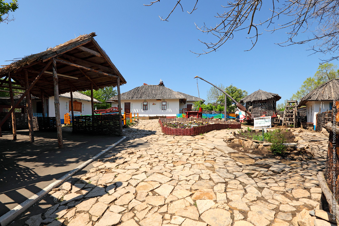 Украинский хутор национальная деревня народов Саратовской области
