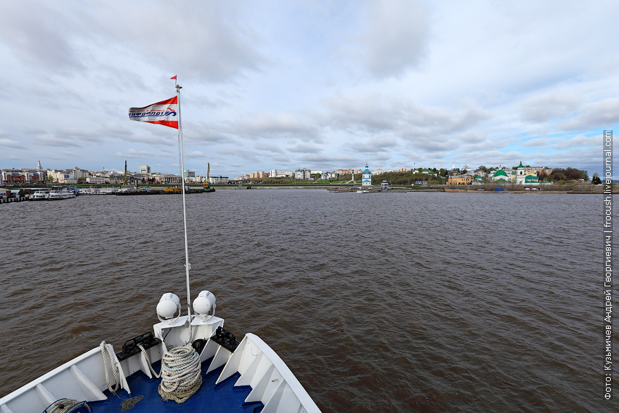 Еще одно бонус-фото. Вид на город Чебоксары со стороны Чебоксарского залива