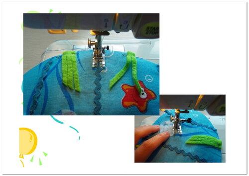 Бесплатные мастер-классы по шитью... Развивающий коврик Подводный мир