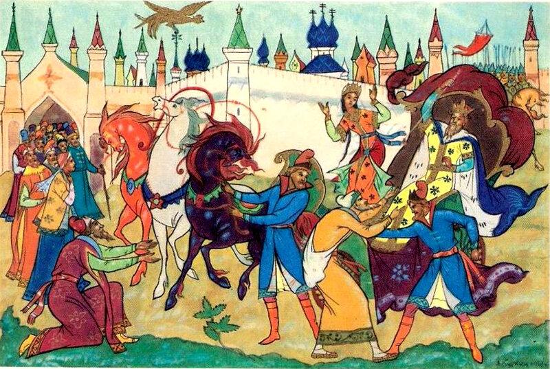 картинки к сказке шамаханская царица