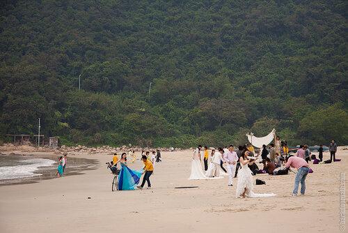 свадебная фотосессия в Китае