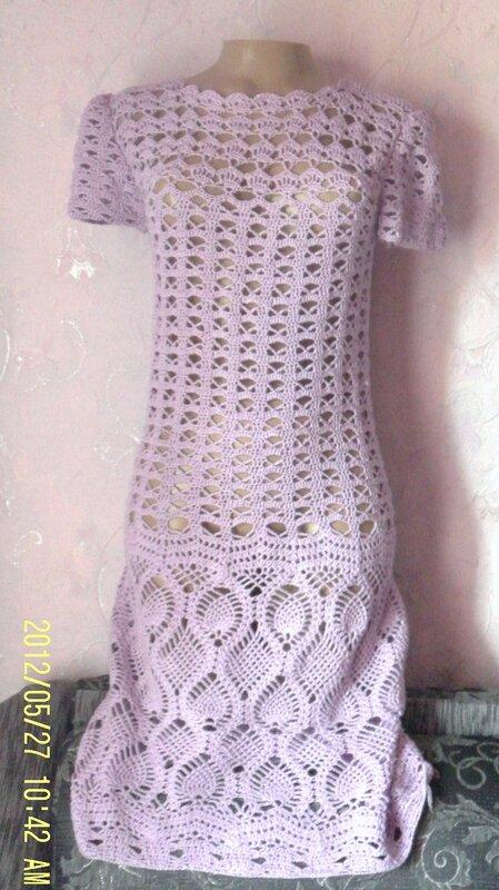 мое платье связанное в онлайн теме на осинке все в ажуре