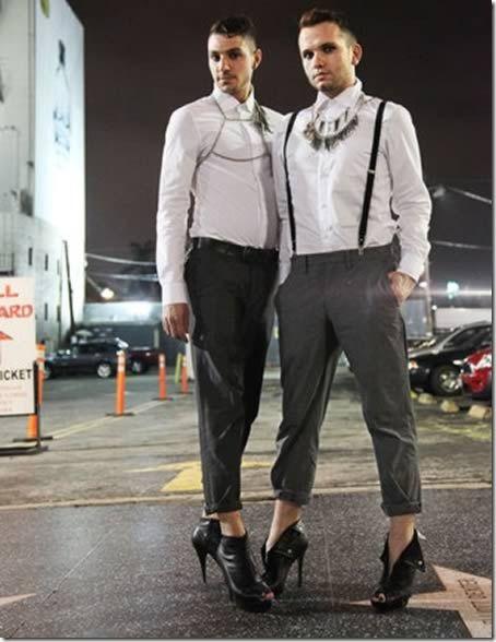 Удивителен каждый день.  - Новая мода: Мужская обувь на.