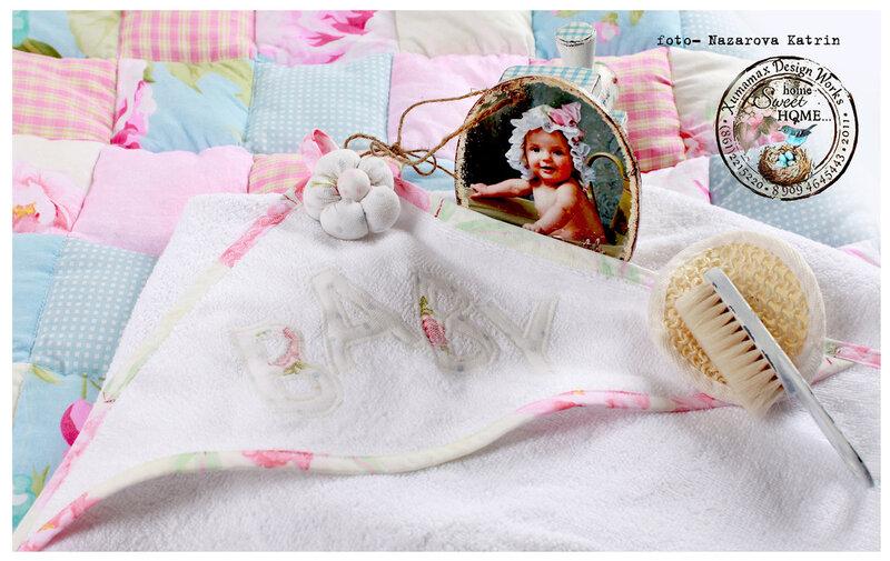 комплект подарочный на рождение малышки baby.
