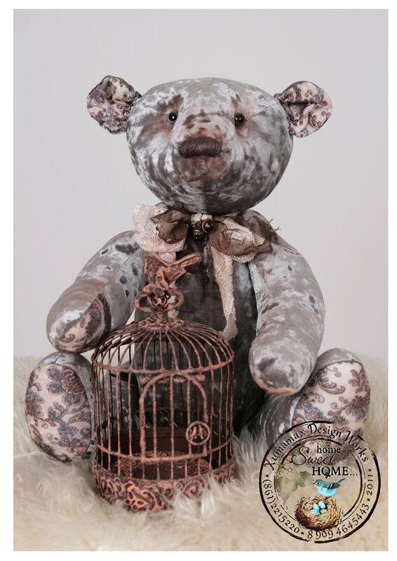 медведь большой Антуан винтаж.