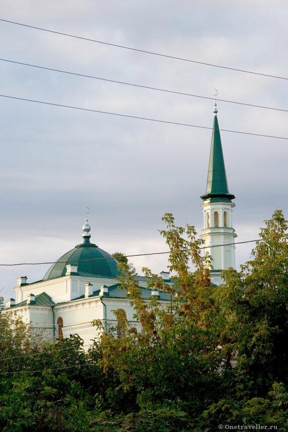 Уфа. Первая уфимская соборная мечеть ЦДУМ России.