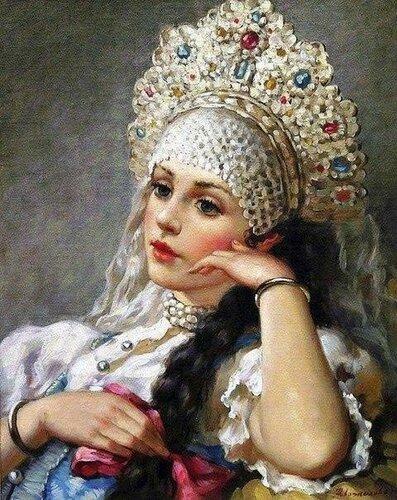 Русские красавицы в живописи Владислава Нагорнова3.jpg