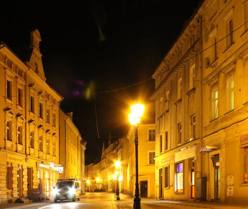 Złotoryja. Basztowa Street. Złotoryja.