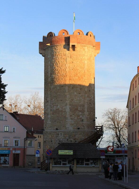 Злоторыя. Złotoryja. башня Ковальского.  (Baszta Kowalska)