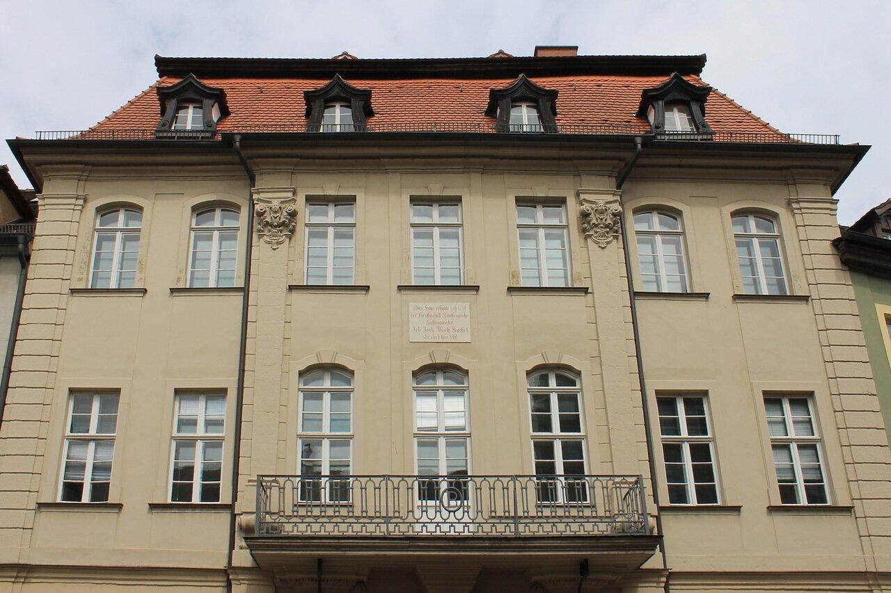 Bamberg. Lange Straße (Long street)