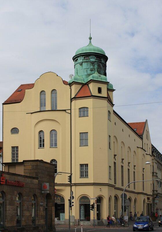 Бамберг. Луитпольдштрассе (Luitpoldstraße)