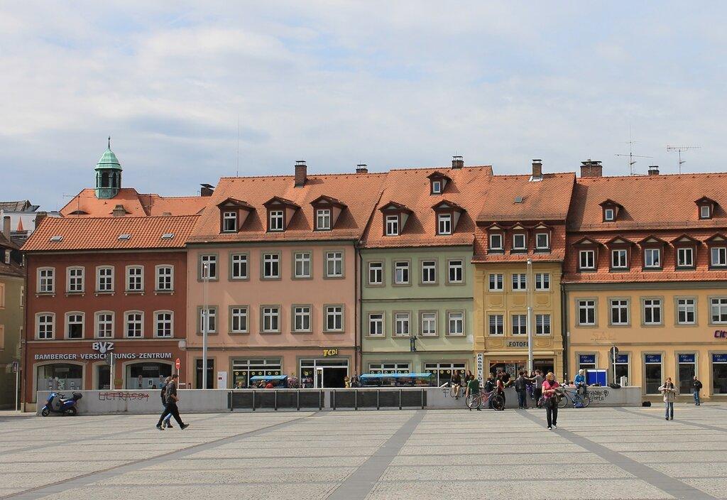 Бамберг. Площадь Максимилианплац (Maximilianplatz)