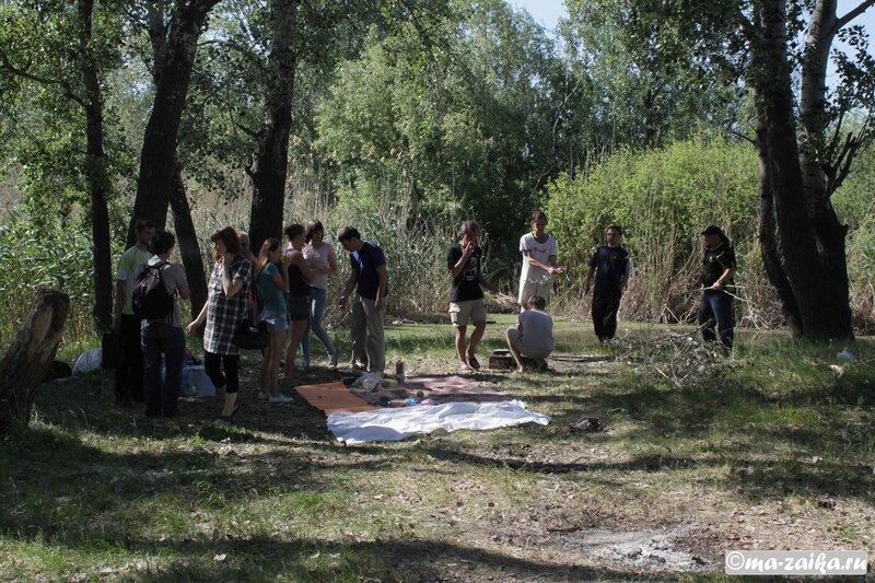 Сахаровская маевка, Тинь-Зинь, озеро Сазанка, Энгельс, 19 мая 2012 года
