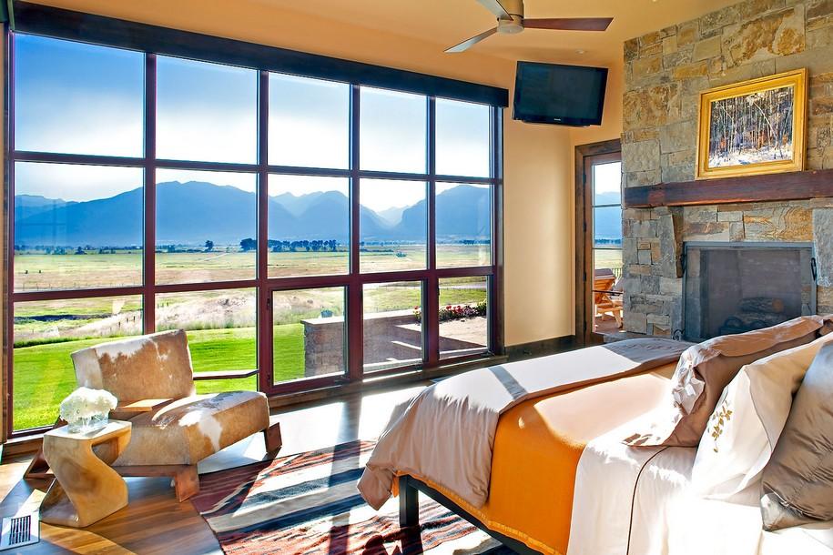Домик в деревне от Locati Architects в Монтане