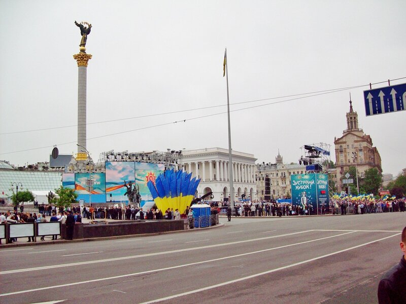 Майдан Незалежности 9 мая 2012 года
