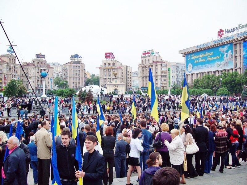 День Победы 2012 на Майдане