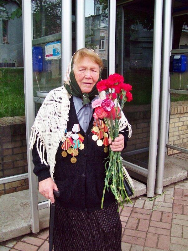 Ветеран ВОВ 9 мая 2012 года