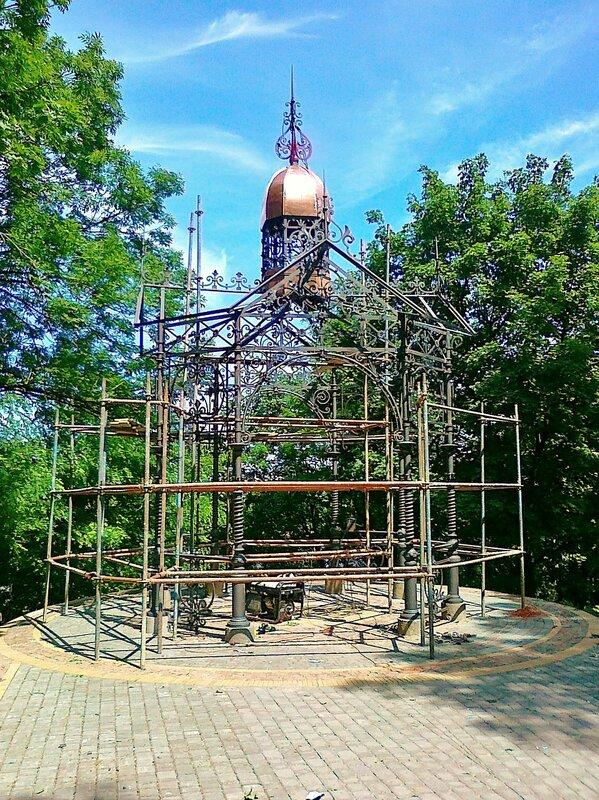 Кокоревская альтанка после реконструкции