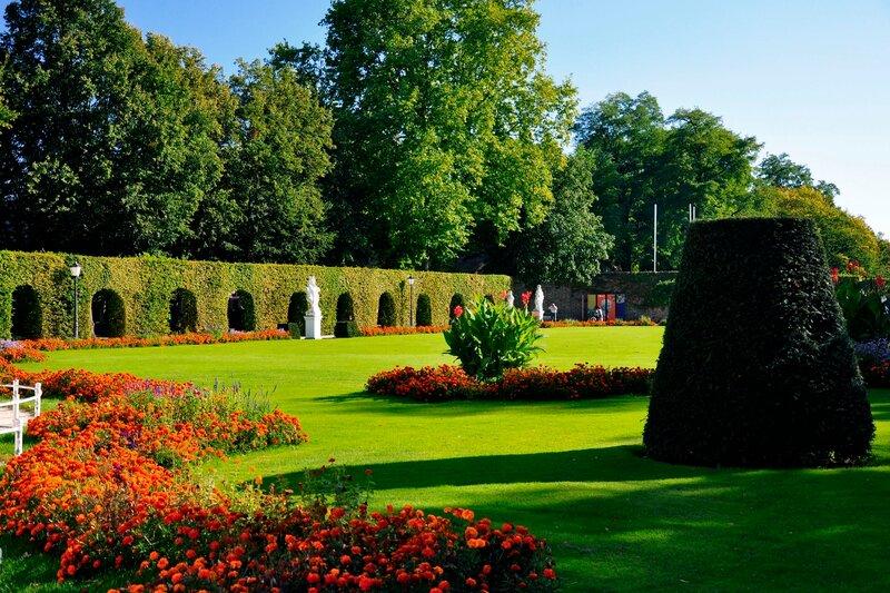 Трир. Парк при дворце курфюрста.