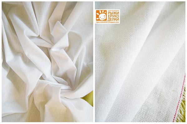 2. Прямоугольник ткани сшиваем в кольцо.  Край обрабатываем строчкой...