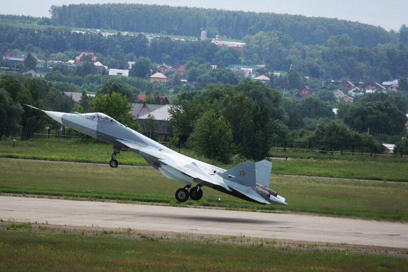 Многоцелевой истребитель ПАК ФА Т-50