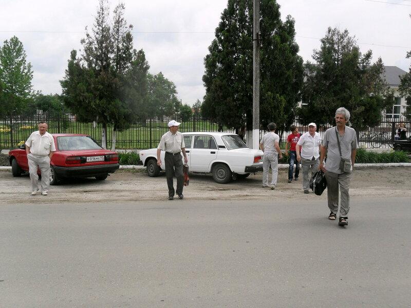 Прибытие шахматистов из Приморско-Ахтарска в станицу Бриньковскую ... SAM_8375.jpg