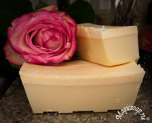 Глицериновое мыло из детского (пошаговый мастер-класс)