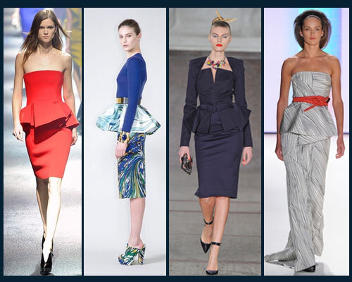 Fall 2012:Lanvin, Stella McCartney, Zac Posen, Carolina Herrera
