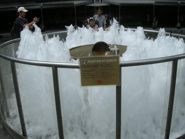 Фонтан Изобилия. Сингапур