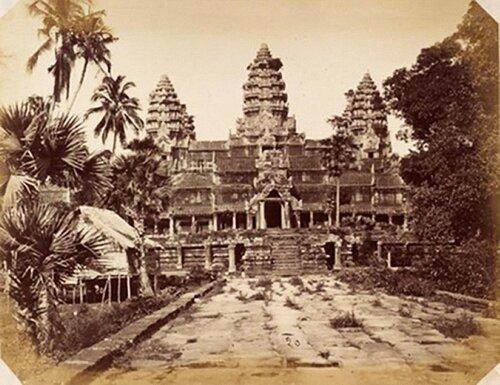 фото Ангкор Ват в XIX веке