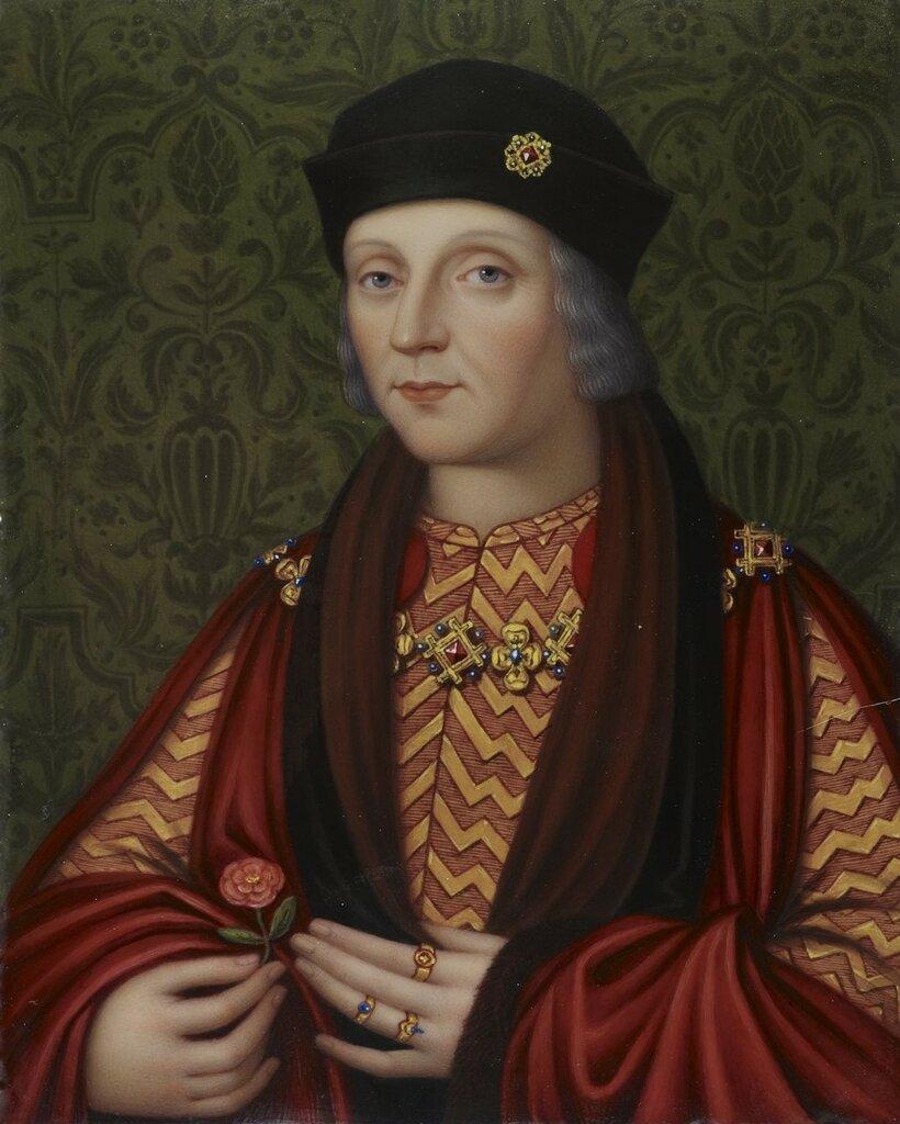 Генрих VII (1457-1509)  Подпись и дата 1818