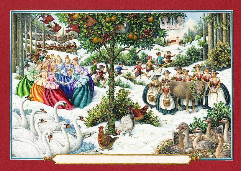 the-twelve-days-of-christmas-lynn-bywaters.jpg <br /> Двенадцать дней Рождества Линн Bywaters