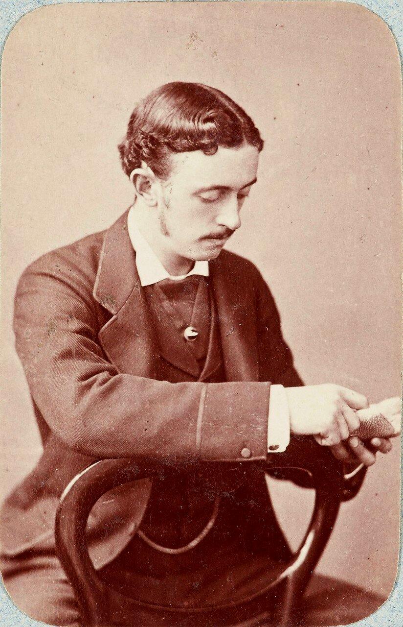 154. Лорд Альберт Грей, 4-й граф Грей(1851-1917), тогда мр. Альберт Грей (личный секретарь сэра Генри Бартла Эдварда Фрера)