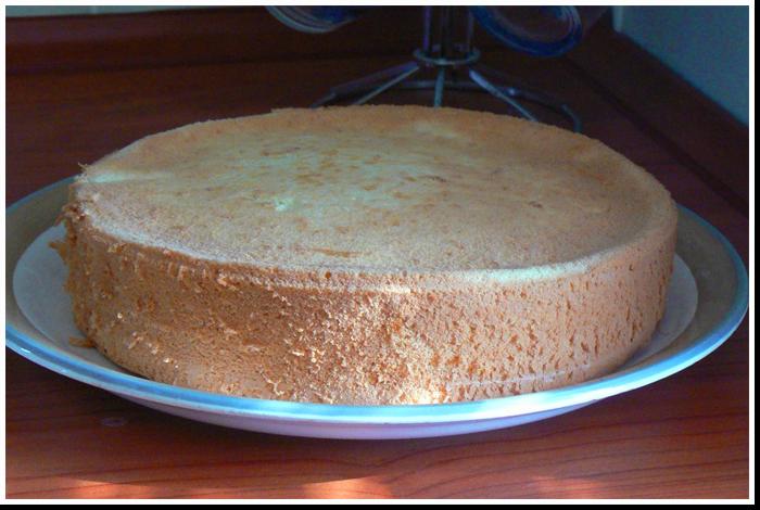 бисквит фото рецепт