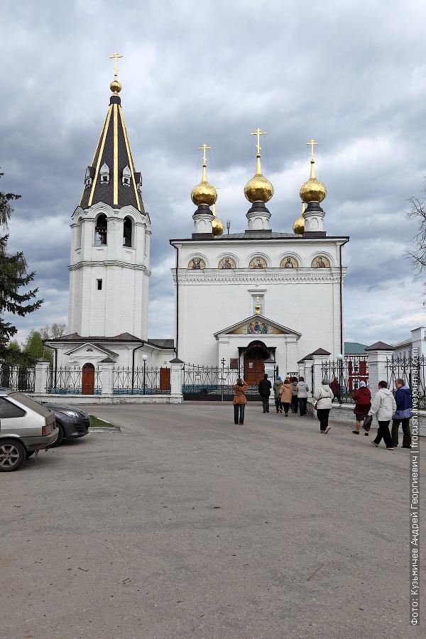 Собор Федоровского монастыря. Освящен Патриархом Московским и всея Руси Кириллом 12 сентября 2009 года