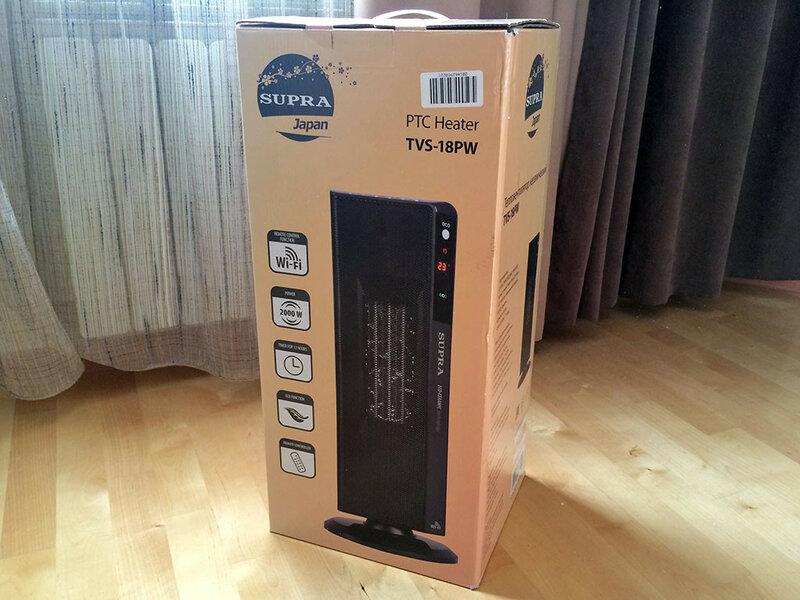 Тепловентилятор SUPRA TVS–18PW