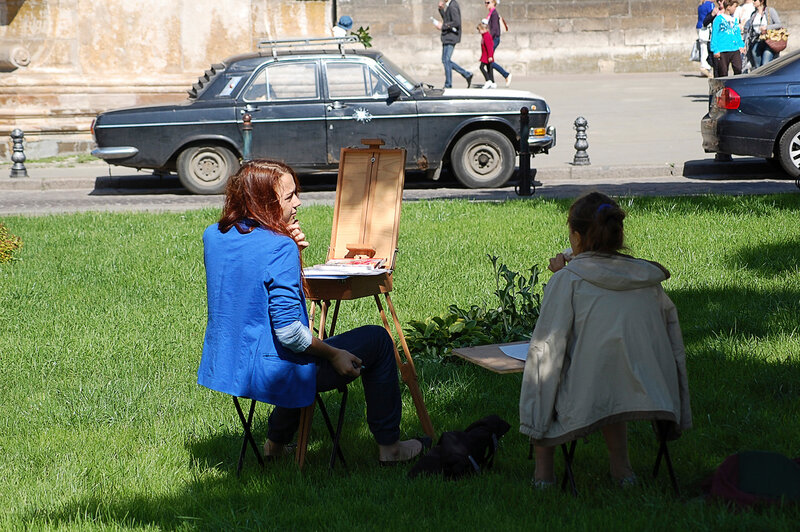 художники на плэнере