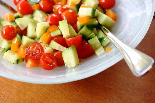 Салатная диета на неделю