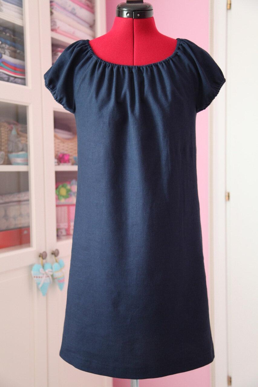 Сшить прямое короткое платье своими руками